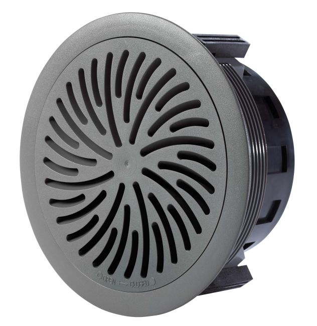 Product Supply Air Grilles : Advanced air floor swirl diffuser