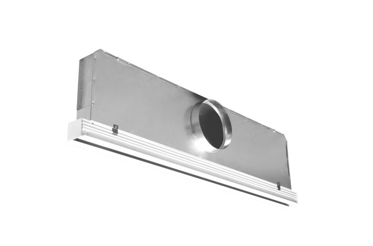 Linear Ceiling Grills : Advanced air lay in flowline high capacity linear slot